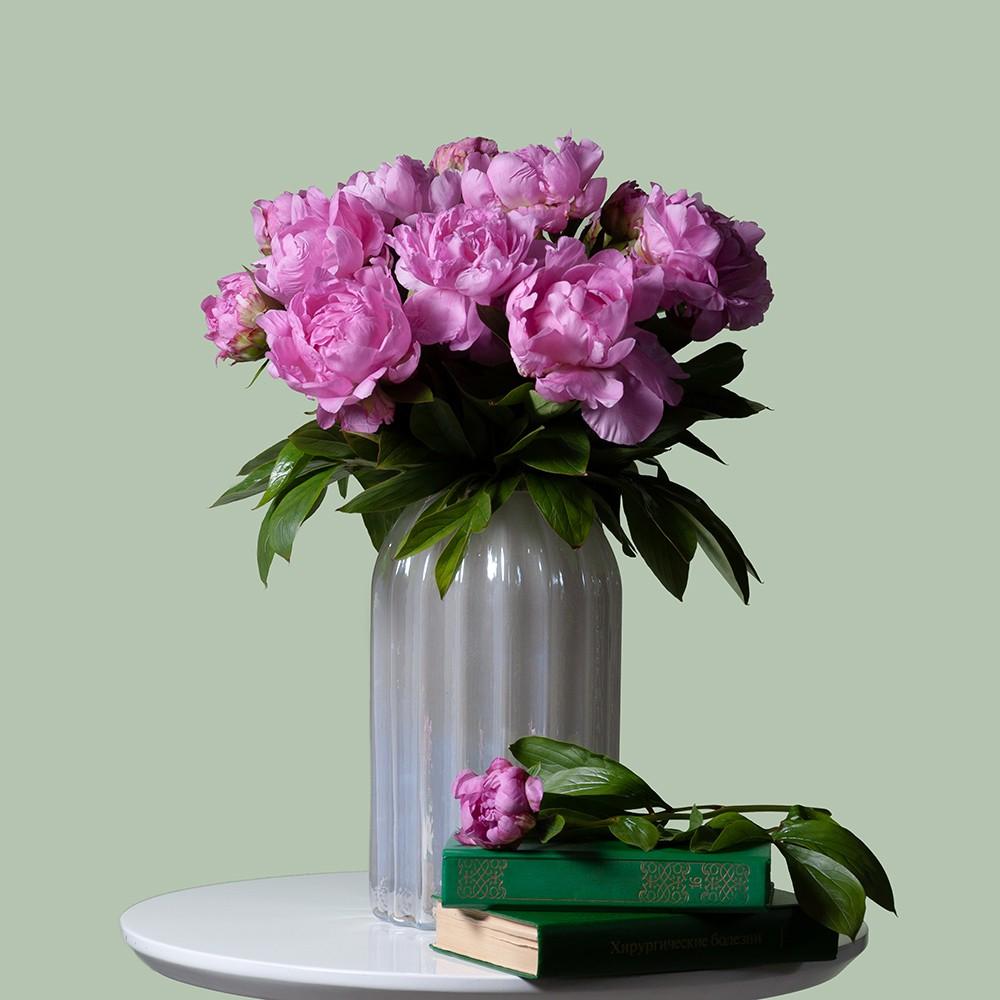Пион ярко-розовый - купить цветы в Санкт Петербурге