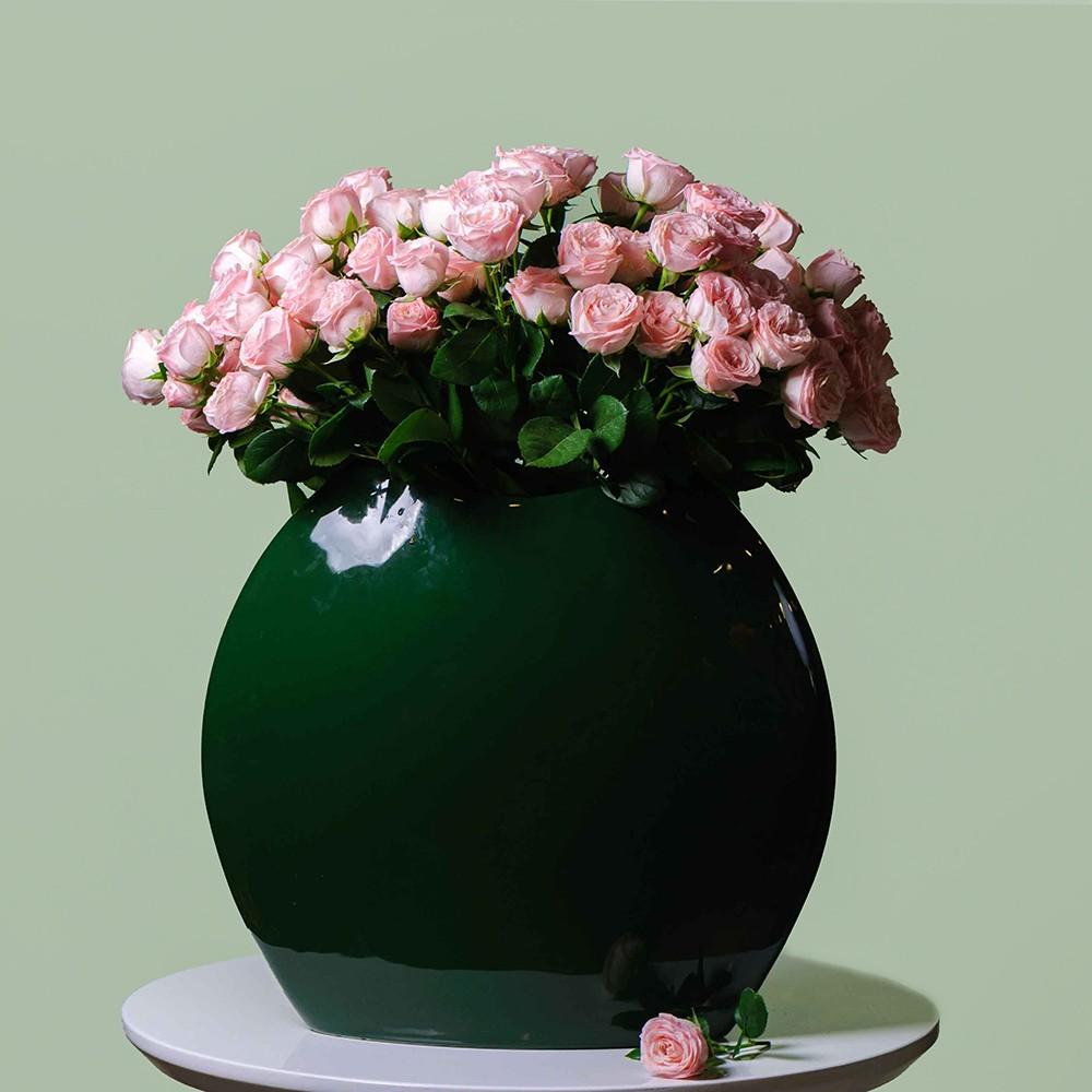 Роза кустовая (сорт Бомбастик) - купить цветы в Санкт Петербурге