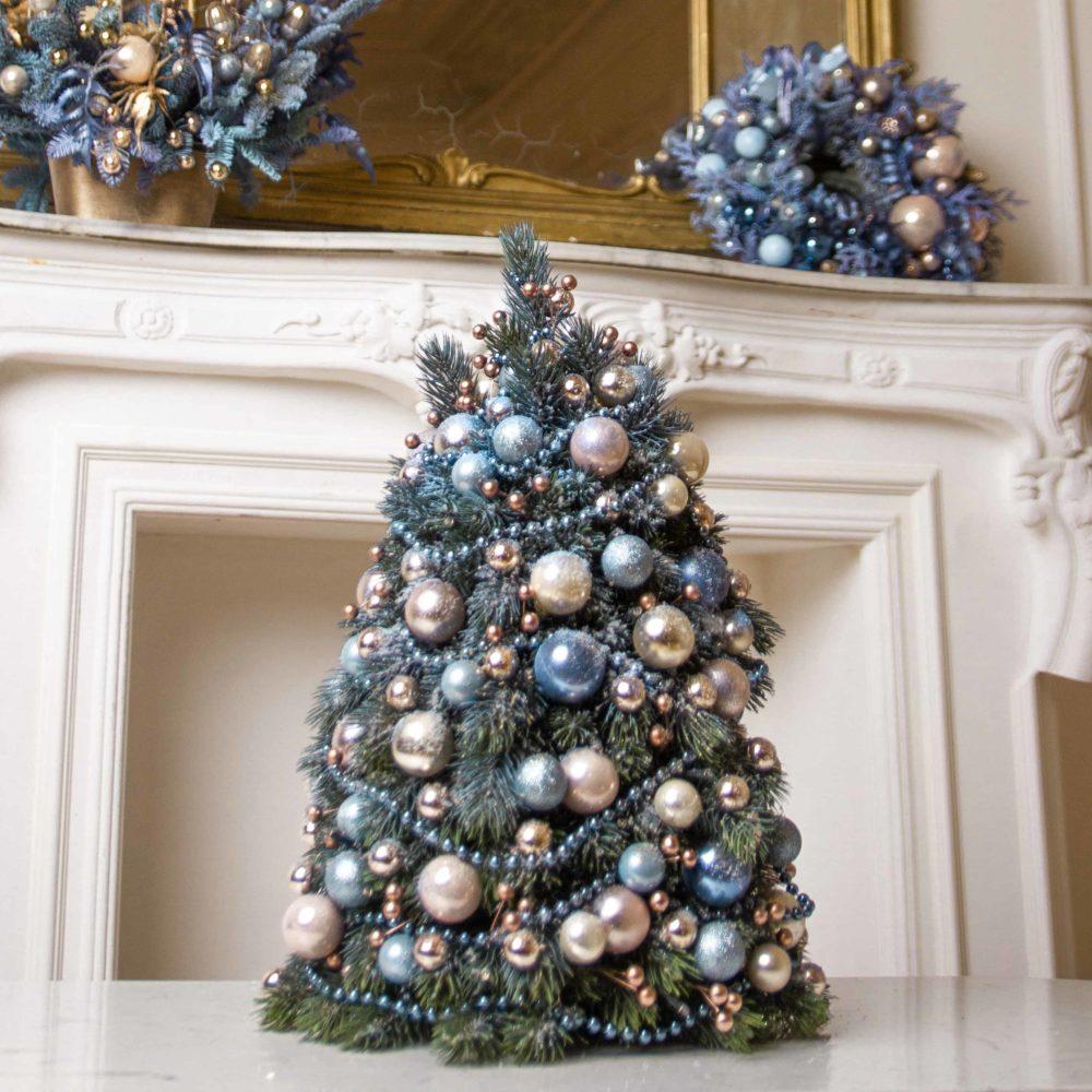 Елка из голубой коллекции №11 - купить цветы в Санкт Петербурге