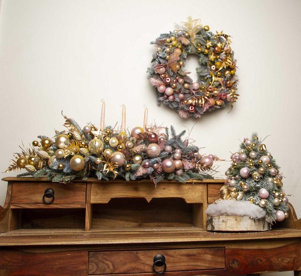 новогодний декорации