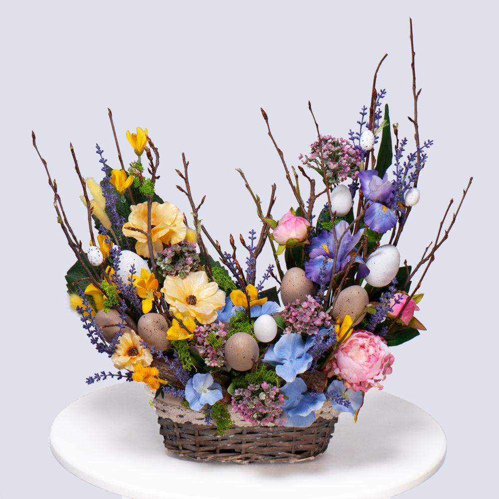 Пасхальная композиция №1 - купить цветы в Санкт Петербурге