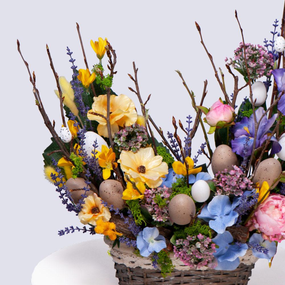 Пасхальная композиция №1 - цветы в Спб