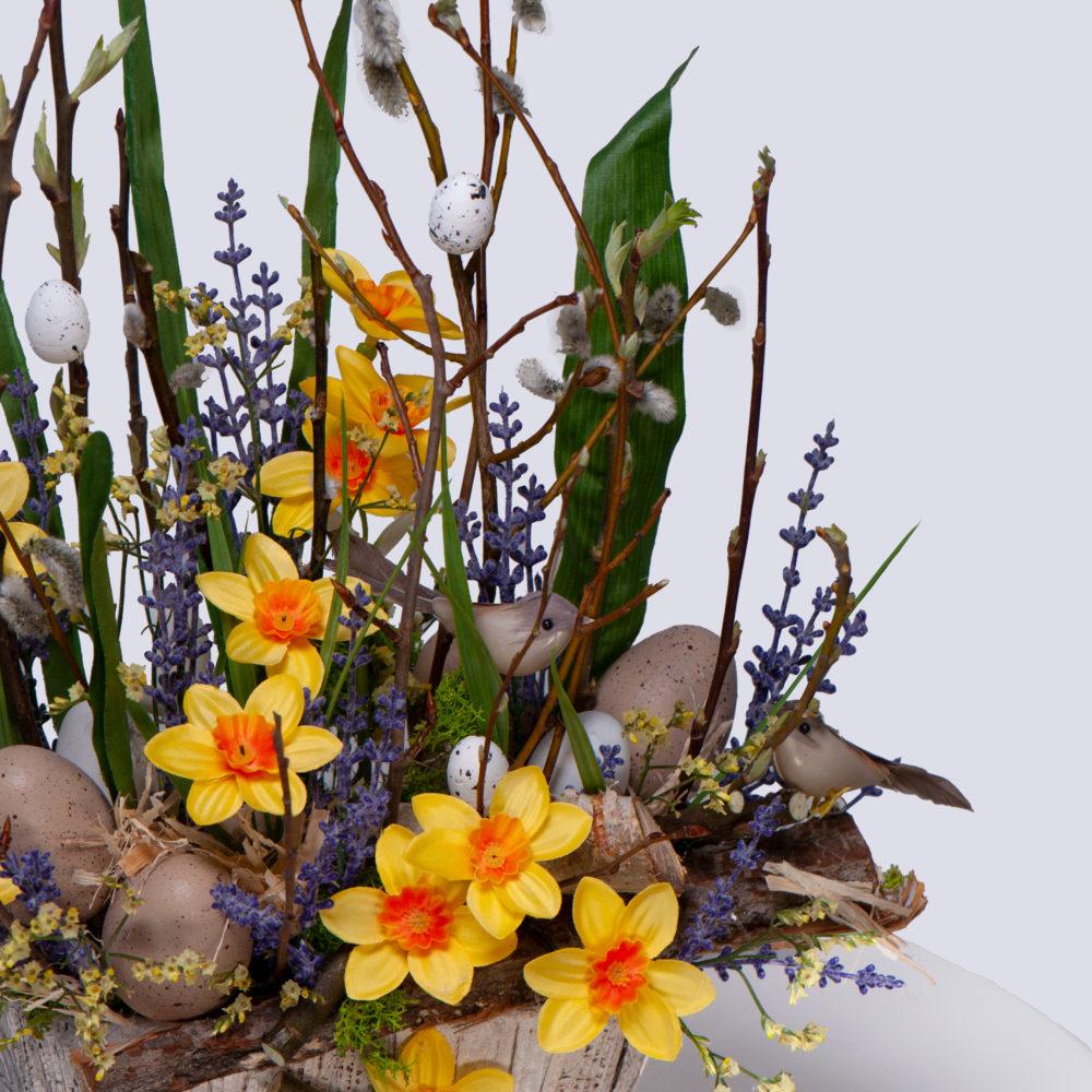 Пасхальная композиция №2 - цветы в Спб