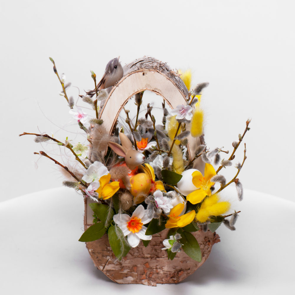 Пасхальная композиция №3 - купить цветы в Санкт Петербурге