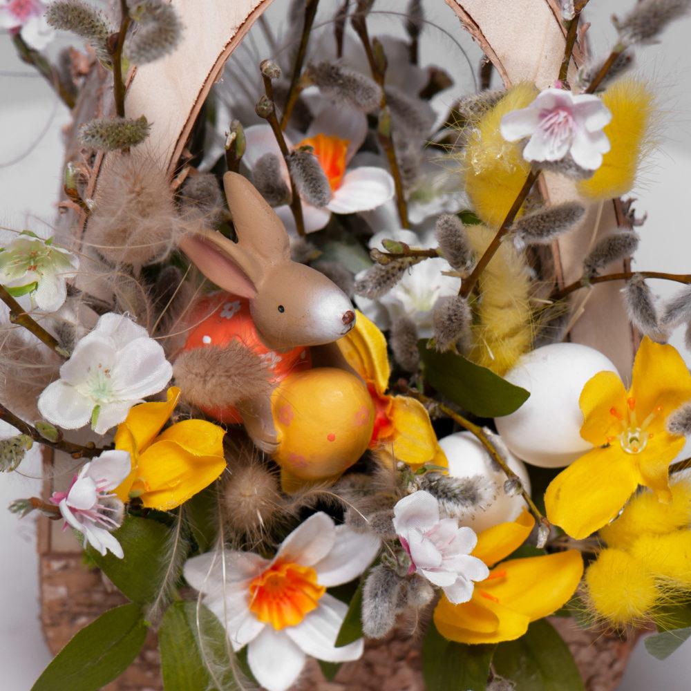 Пасхальная композиция №3 - цветы в Спб