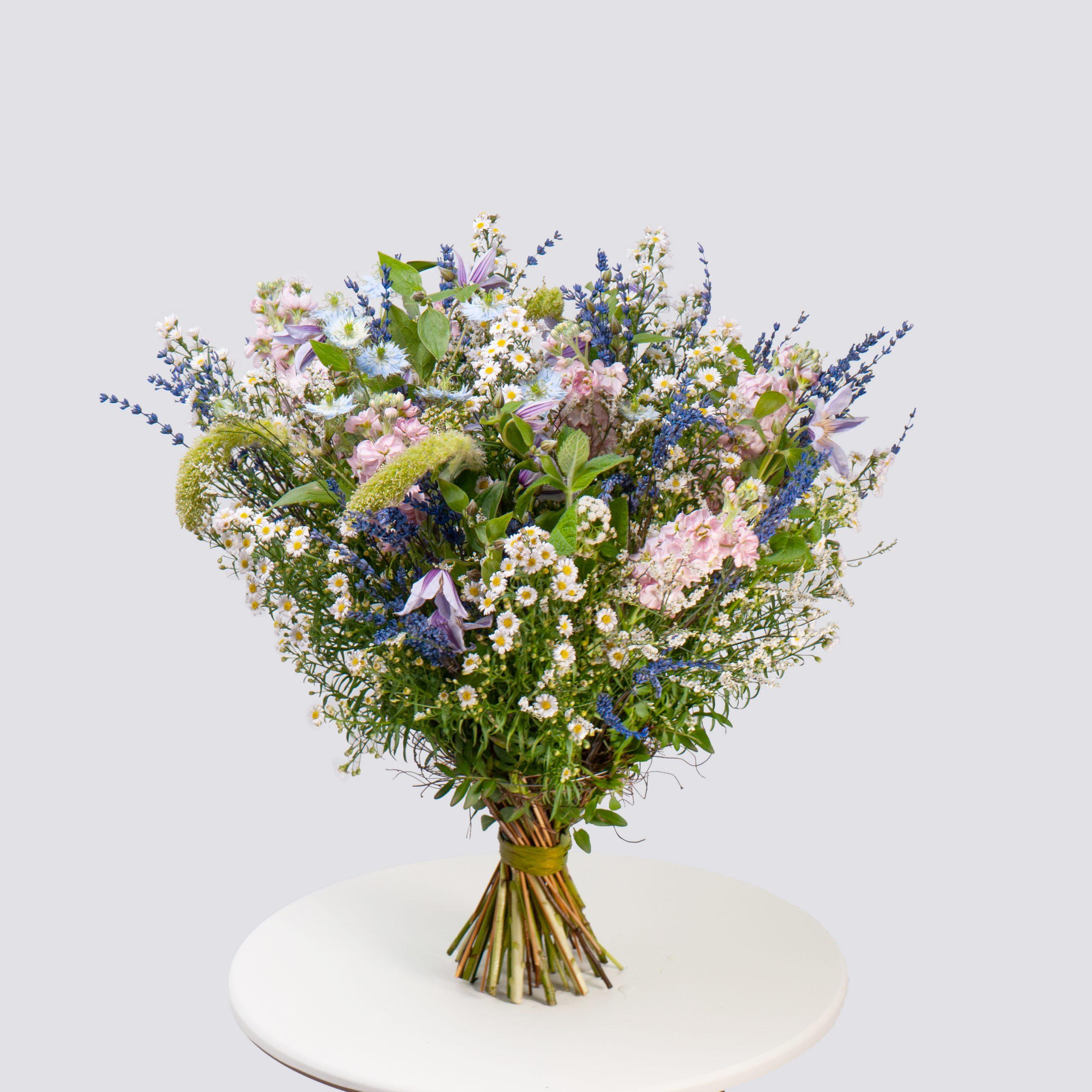 Полевой букет с лавандой №50 - купить цветы в Санкт Петербурге