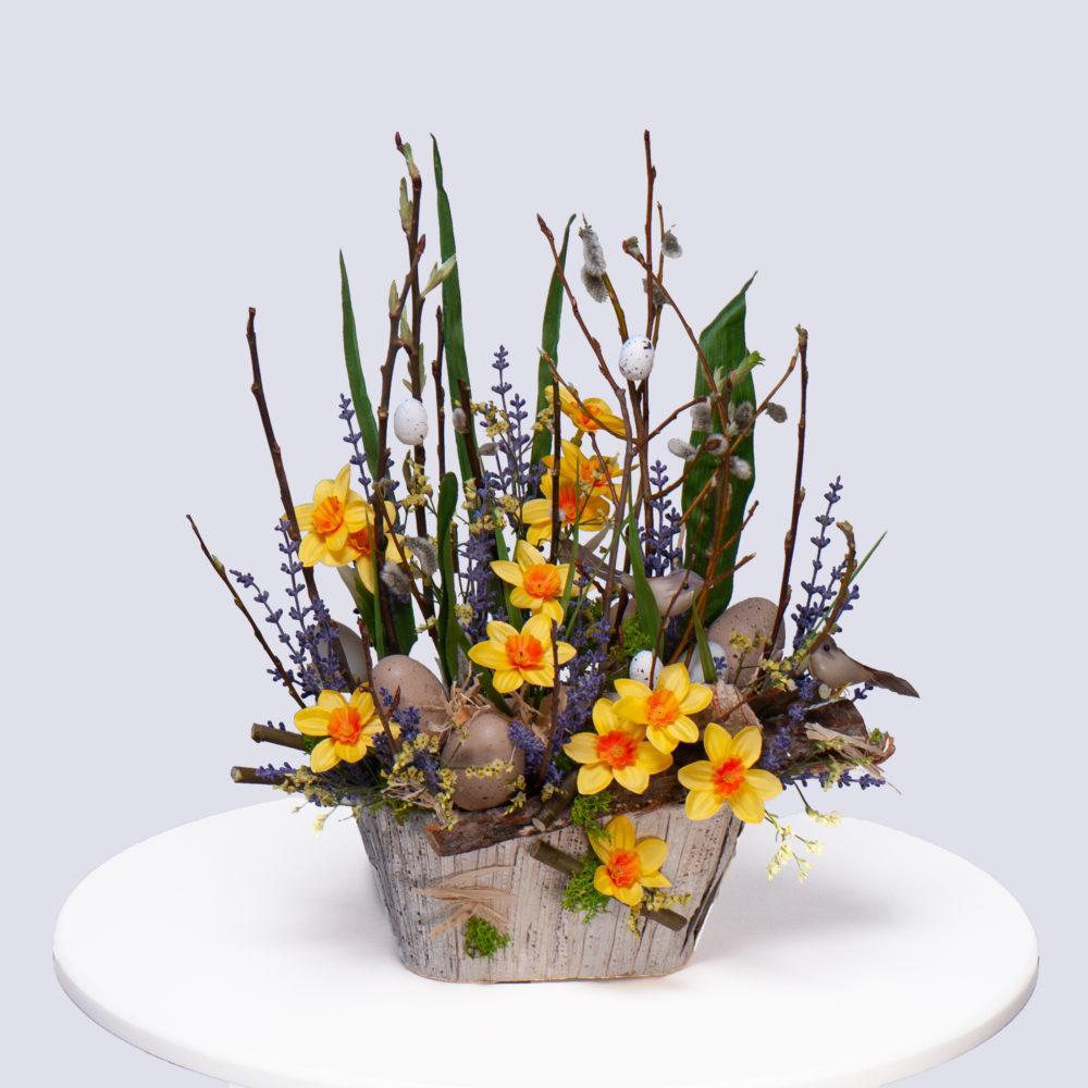Пасхальная композиция №2 - купить цветы в Санкт Петербурге